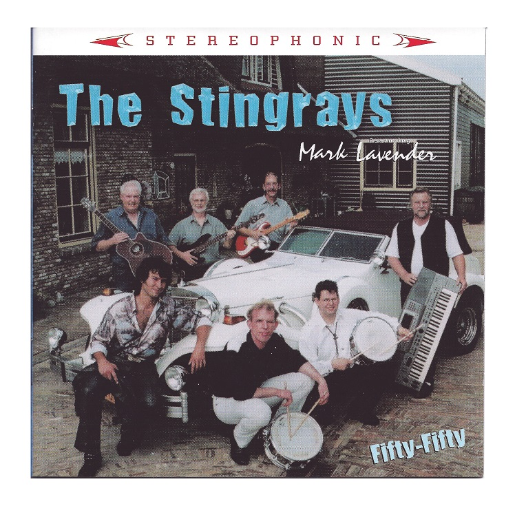 "CD ""The Stingrays featuring Mark Lavender Fifty-Fifty"" (2002)"
